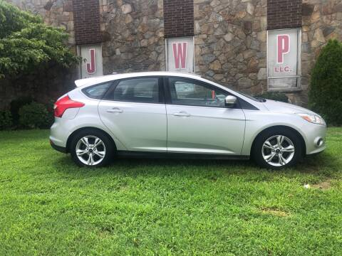 2013 Ford Focus for sale at JWP Auto Sales,LLC in Maple Shade NJ