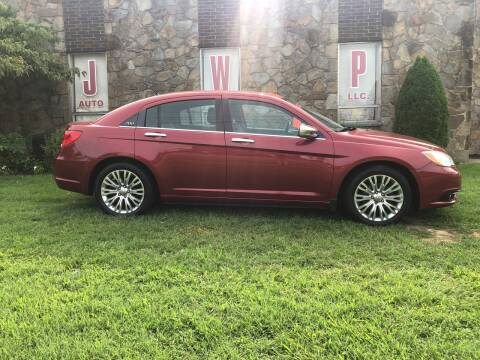 2012 Chrysler 200 for sale at JWP Auto Sales,LLC in Maple Shade NJ