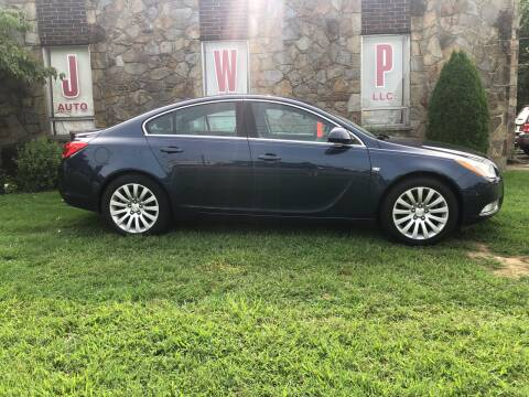 2011 Buick Regal for sale at JWP Auto Sales,LLC in Maple Shade NJ
