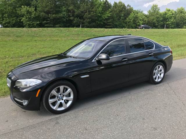 2012 BMW 5 Series for sale at Locomotors Auto Sales in North Little Rock AR