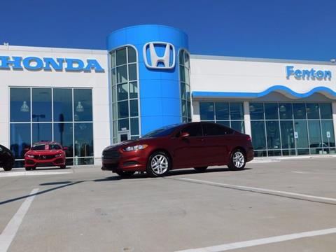 2014 Ford Fusion for sale in Ardmore, OK
