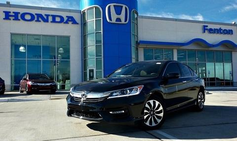 2017 Honda Accord Hybrid for sale in Ardmore, OK