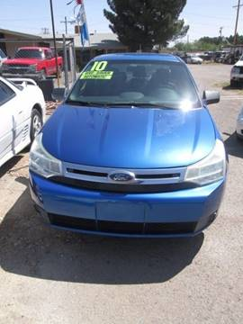 2010 Ford Focus for sale in El Paso, TX