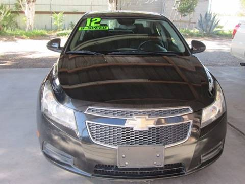 2012 Chevrolet Cruze for sale in El Paso, TX