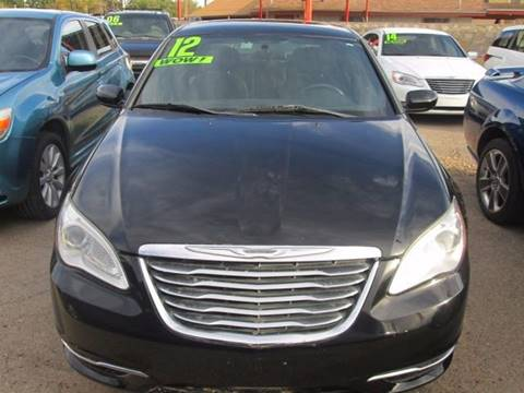 2012 Chrysler 200 for sale in El Paso, TX