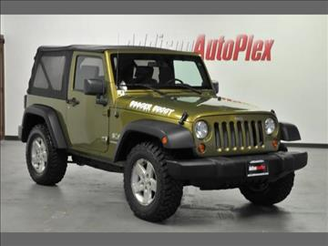 2007 Jeep Wrangler for sale in Addison, TX