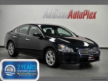 2014 Nissan Maxima for sale in Addison, TX