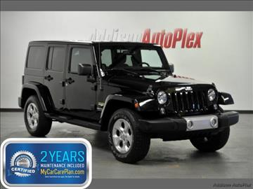 2014 Jeep Wrangler Unlimited for sale in Addison, TX