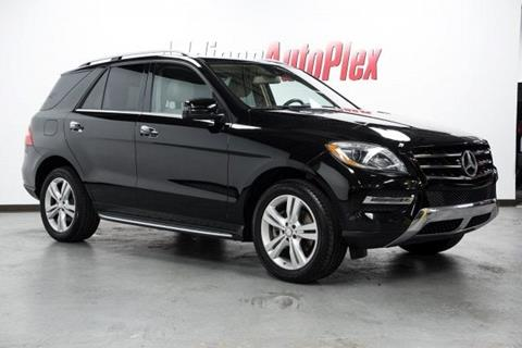 2015 Mercedes-Benz M-Class for sale in Addison, TX