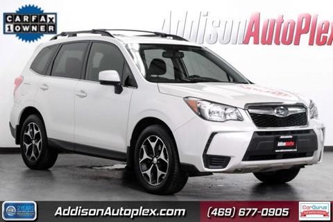 2016 Subaru Forester for sale in Addison, TX