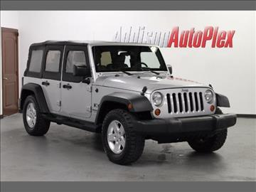 2007 Jeep Wrangler Unlimited for sale in Addison, TX