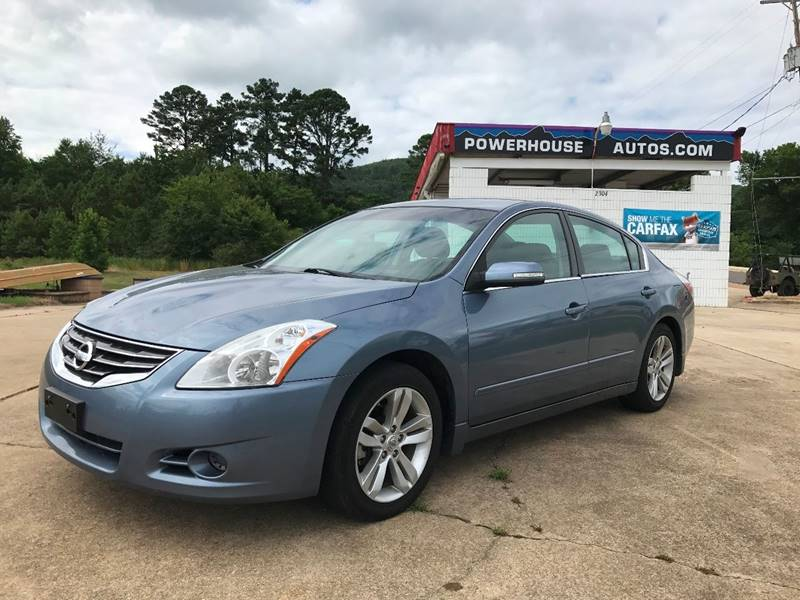 2012 Nissan Altima For Sale At Powerhouse Autos In Hot Springs AR