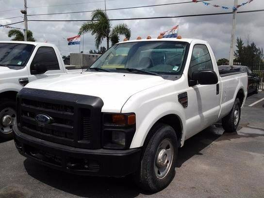 2008 Ford F-250 Super Duty XL 2dr Regular Cab LB RWD - Medley FL
