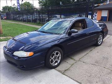 2000 Chevrolet Monte Carlo for sale in Detroit, MI