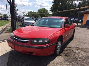 2004 Chevrolet Impala for sale in Detroit, MI