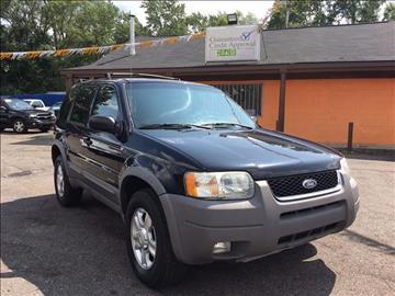 2002 Ford Escape for sale in Detroit, MI