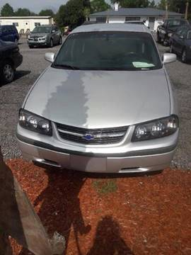 2002 Chevrolet Impala for sale in Lexington SC
