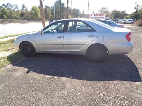 2002 Toyota Camry for sale in Lexington, SC
