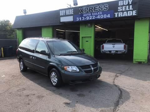 2002 Dodge Grand Caravan for sale in Detroit, MI