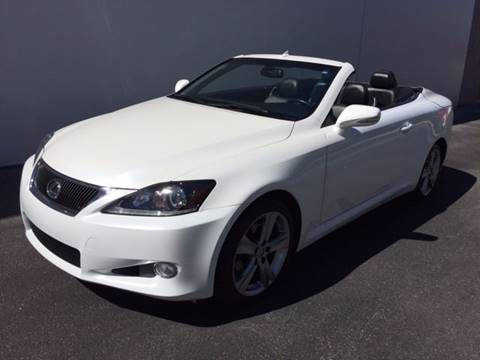 2012 Lexus IS 250C for sale in Las Vegas, NV