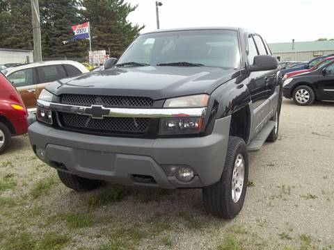 2002 Chevrolet Avalanche for sale in Ixonia, WI