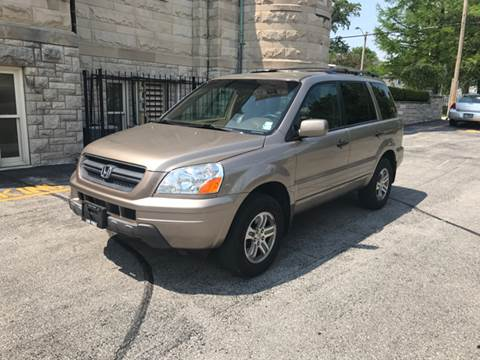 2004 Honda Pilot for sale at BOOST AUTO SALES in Saint Charles MO