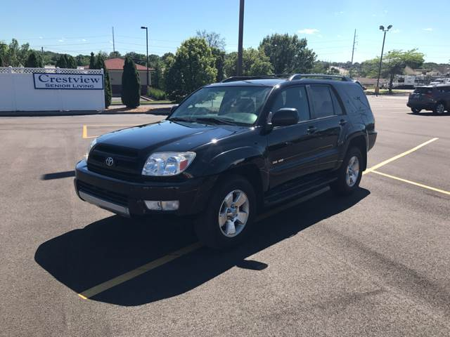 2004 Toyota 4Runner for sale at BOOST AUTO SALES in Saint Charles MO