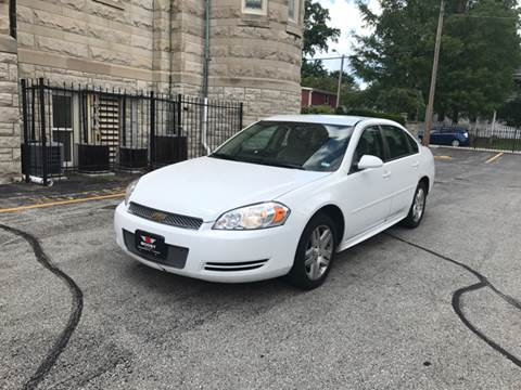 2012 Chevrolet Impala for sale at BOOST AUTO SALES in Saint Charles MO