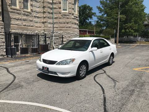 2005 Toyota Camry for sale at BOOST AUTO SALES in Saint Charles MO