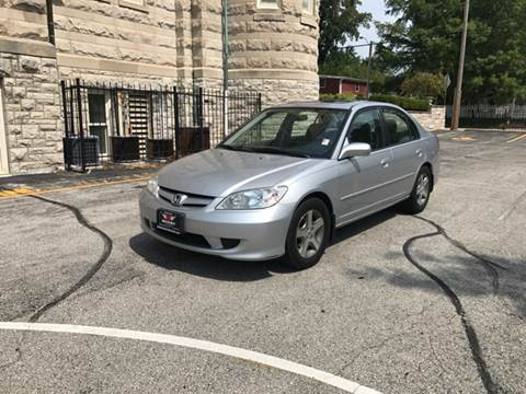 2004 Honda Civic for sale at BOOST AUTO SALES in Saint Charles MO