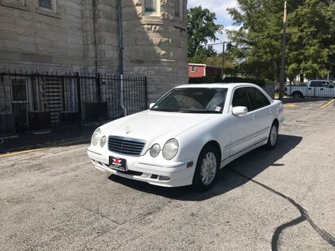 2001 Mercedes-Benz E-Class for sale at BOOST AUTO SALES in Saint Charles MO