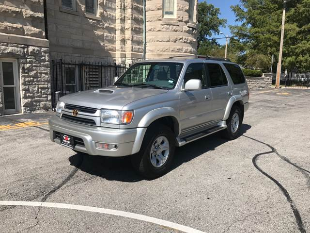 2001 Toyota 4Runner for sale at BOOST AUTO SALES in Saint Charles MO