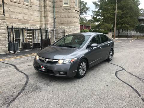 2010 Honda Civic for sale at BOOST AUTO SALES in Saint Charles MO