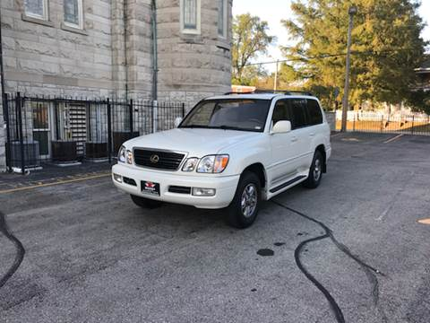 1999 Lexus LX 470 for sale at BOOST AUTO SALES in Saint Charles MO