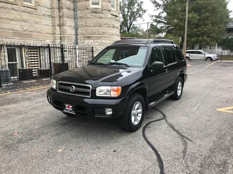 2004 Nissan Pathfinder for sale at BOOST AUTO SALES in Saint Charles MO