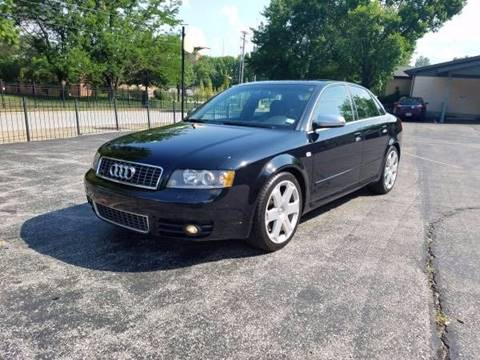 2004 Audi S4 for sale at BOOST AUTO SALES in Saint Charles MO