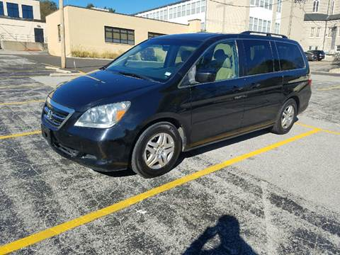 2007 Honda Odyssey for sale at BOOST AUTO SALES in Saint Charles MO