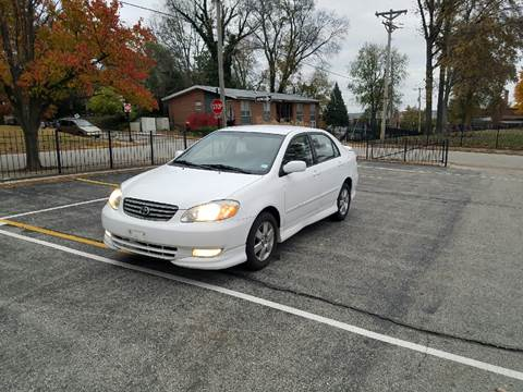 2003 Toyota Corolla for sale at BOOST AUTO SALES in Saint Charles MO