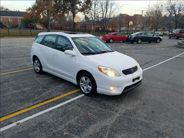 2005 Toyota Matrix for sale at BOOST AUTO SALES in Saint Charles MO