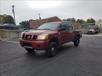 2004 Nissan Titan for sale at BOOST AUTO SALES in Saint Charles MO