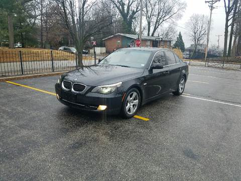 2008 BMW 5 Series for sale at BOOST AUTO SALES in Saint Charles MO