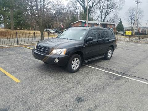 2002 Toyota Highlander for sale at BOOST AUTO SALES in Saint Charles MO