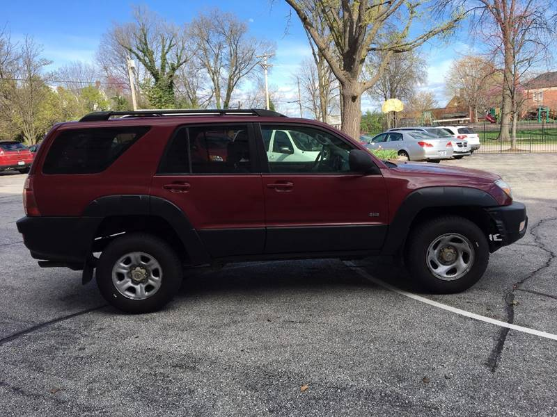 2003 Toyota 4Runner for sale at BOOST AUTO SALES in Saint Charles MO