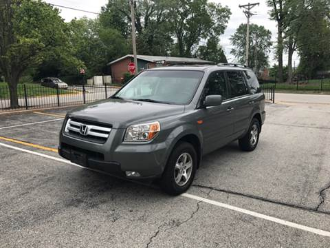 2007 Honda Pilot for sale at BOOST AUTO SALES in Saint Charles MO