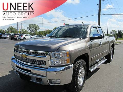 2012 Chevrolet Silverado 1500 for sale in Burton, MI