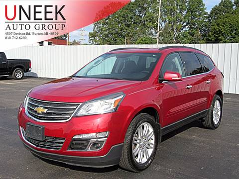 2013 Chevrolet Traverse for sale in Burton, MI