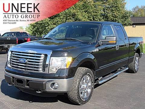2011 Ford F-150 XLT & Used Cars Burton Used Pickups For Sale Davison MI Flint MI Uneek ... markmcfarlin.com