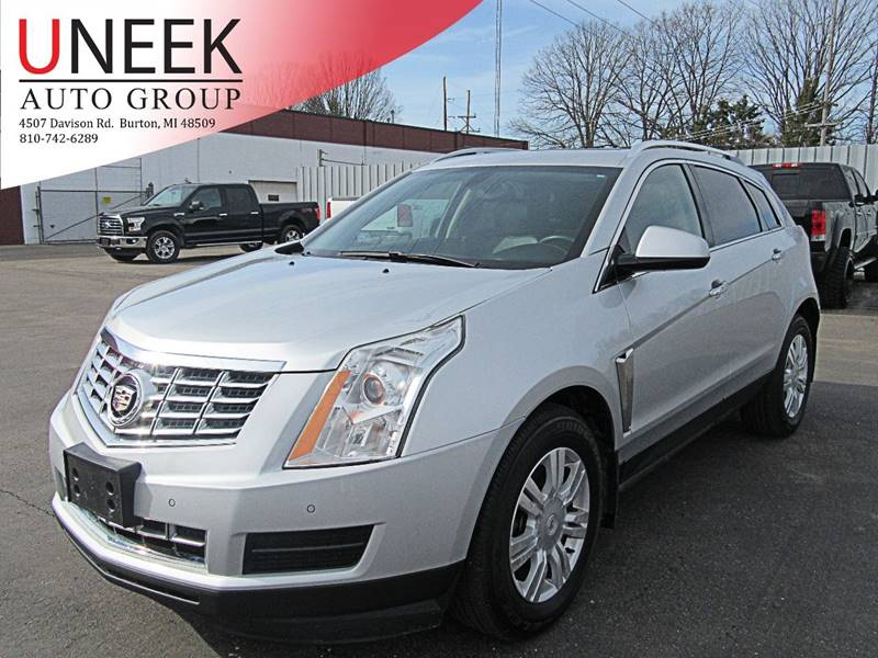 used low free accident collection inventory suv cadillac premium owned awd srx pre km