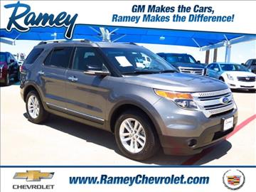 2014 Ford Explorer for sale in Sherman, TX