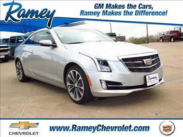 2017 Cadillac ATS for sale in Sherman, TX